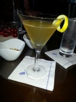 A Spiced Pear Martini in Amelia Island.  Felt loaded with vitamins