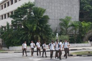 School Children Living Life
