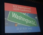 International AIDS Conference Sign