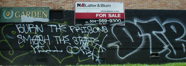 Sentiment Analysis through Graffiti: The State of Being in New Orleans