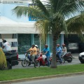 Daily motorcyle life in cozumel