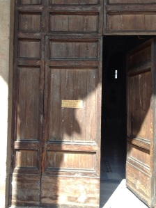 through these doors in italy