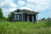 Abandoned house in the 9th ward