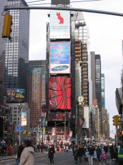Time Square-the other side of Grand Central