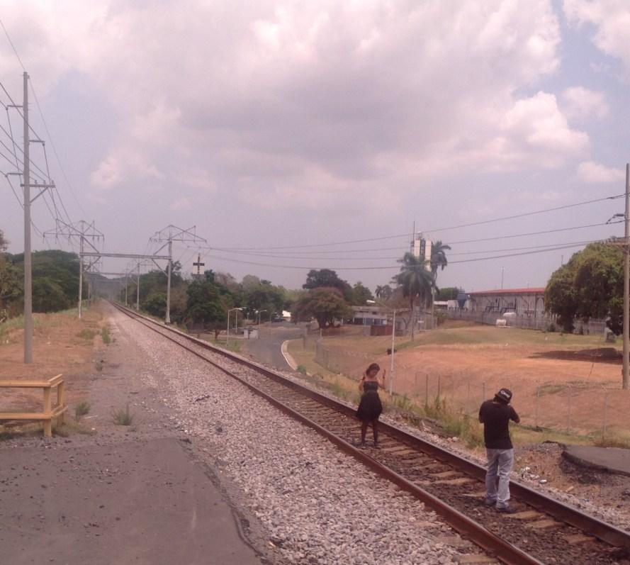 allure of train tracks