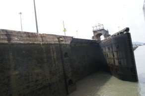 The closing of the Canal doors behind one
