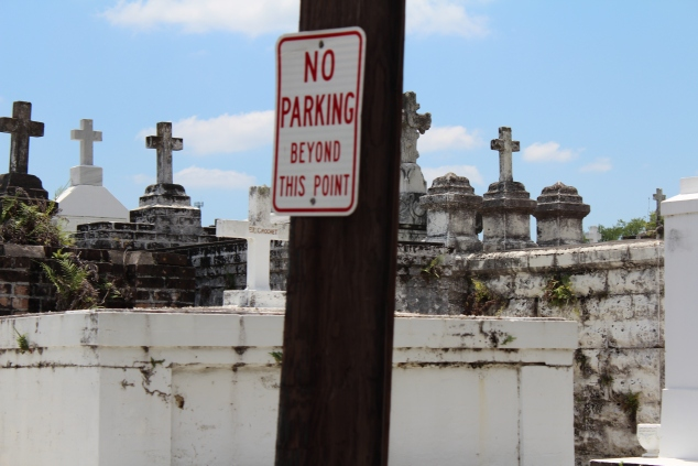 cemetary no parking