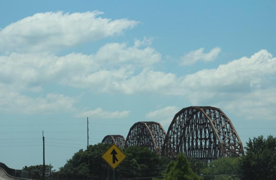 edges of the bridge