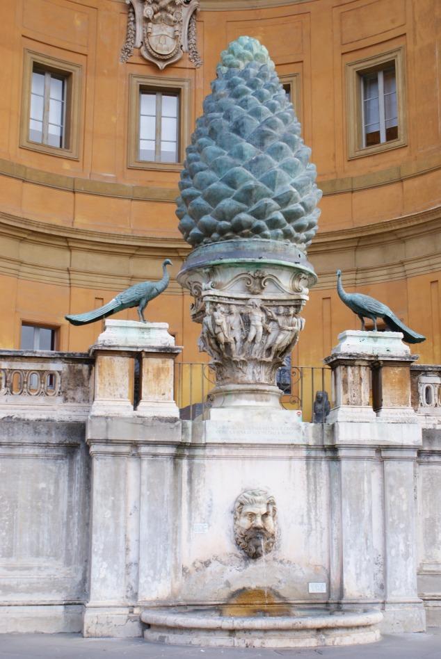 Vatican Courtyard