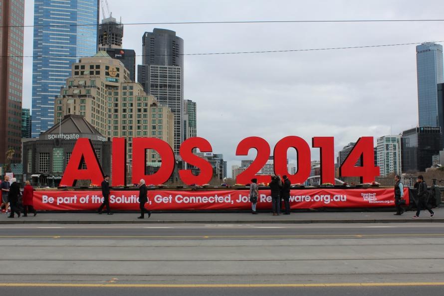 AIDS 2014 Melbourne