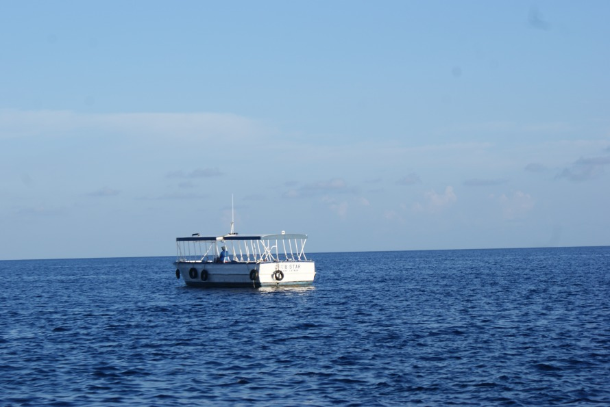 boat in the caymans