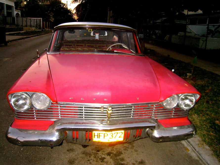 Bright Cuban Car