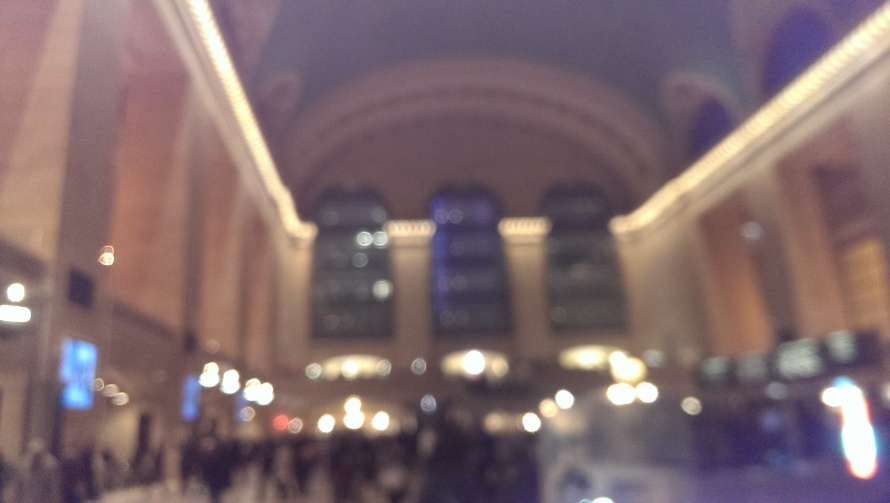 A fuzzy look at grand central