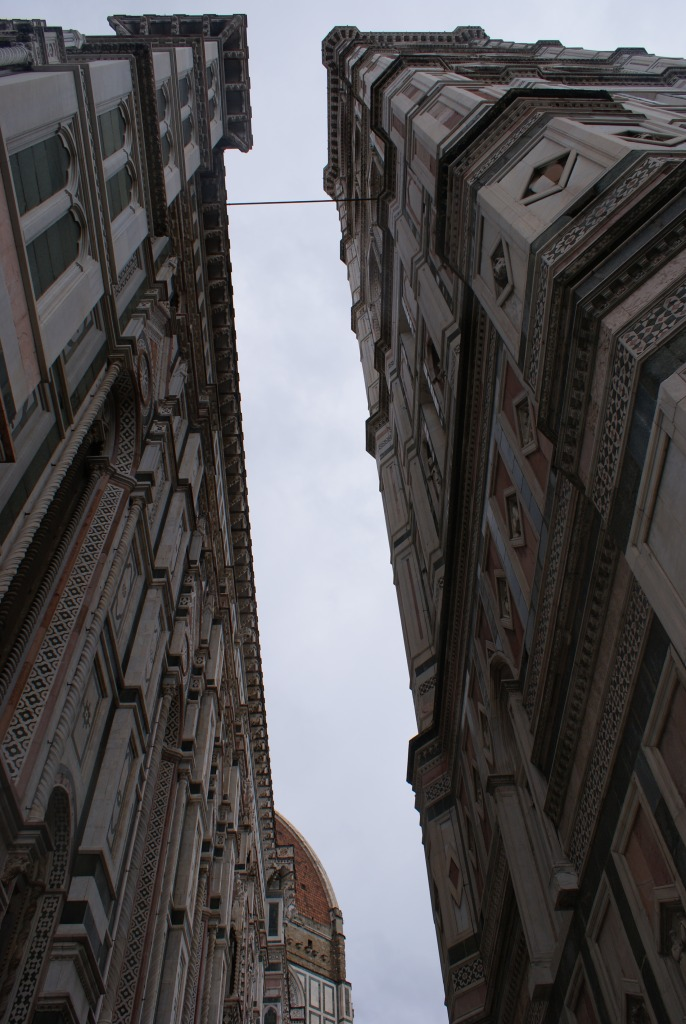 Staring up at the Florence Sky