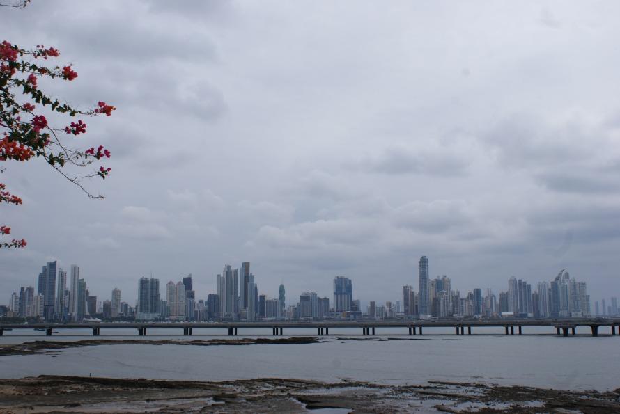 The Panama City Skyscraper Skyline