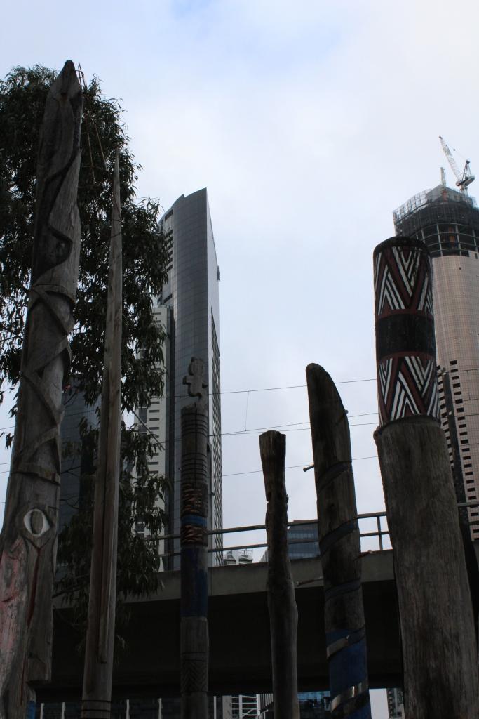 Juxtaposition in Melbourne