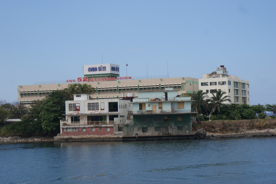 Cuban mismatched buildings