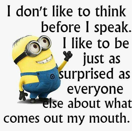minion speak