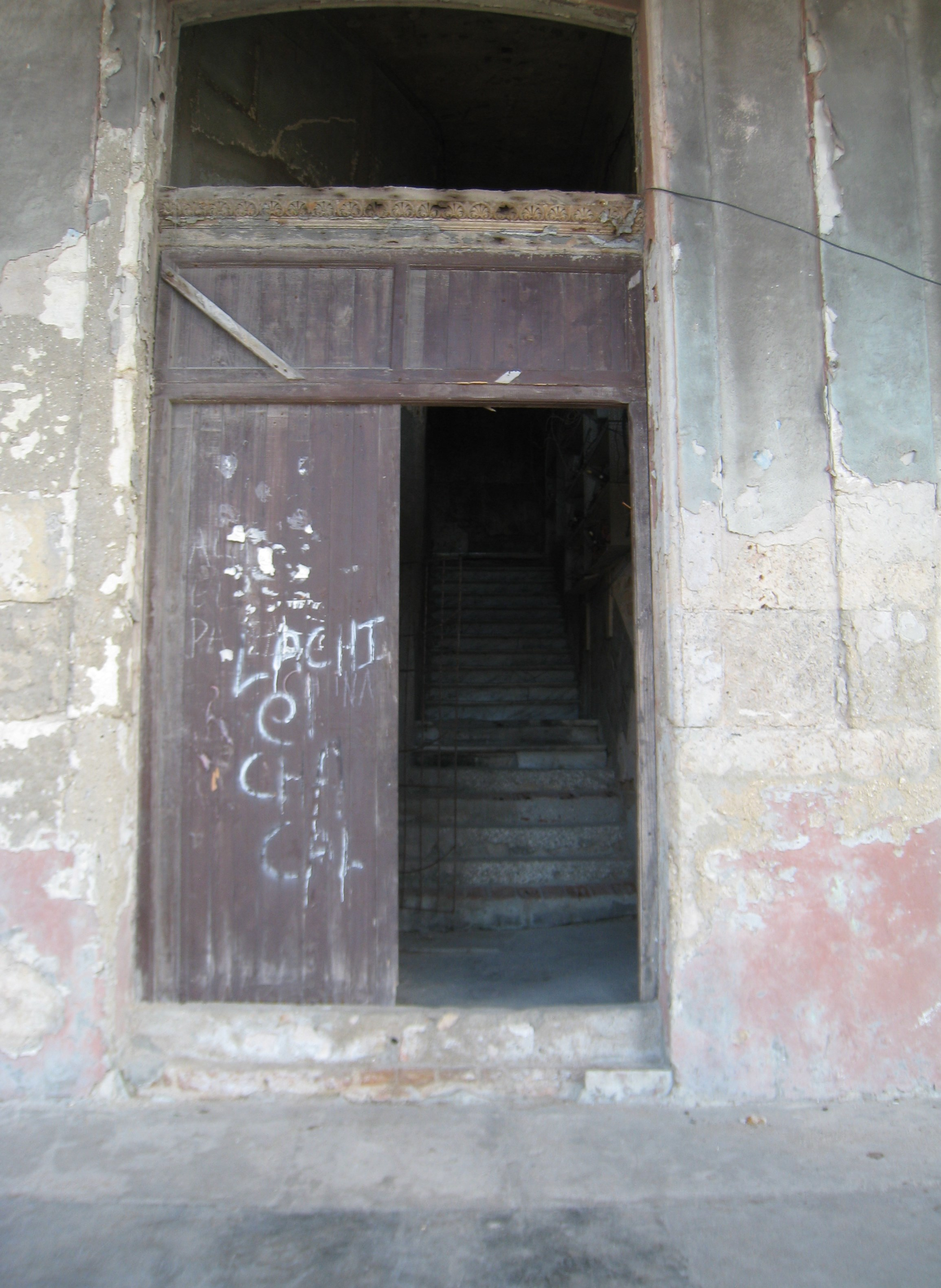how to get a recliner through a door