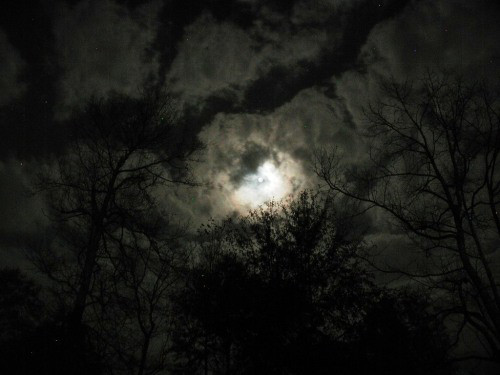 @madison Moon and sky