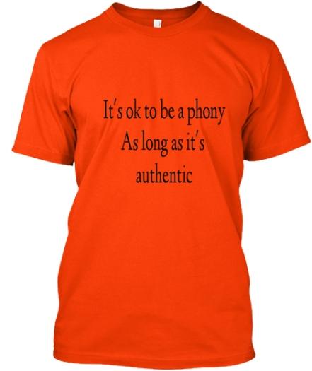 phony tshirt