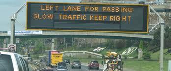 right lane